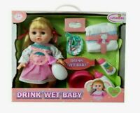 Kids Girls Talking Baby Doll With Accessories Pretend Play Toy Set