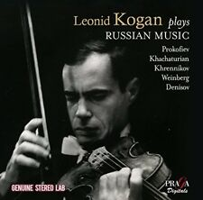 Leonid Kogan - Kogan Plays Russian Music [New CD]