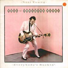 """NEIL YOUNG """" EVERYBODY'S ROCKIN' """" LP NUOVO DI NEGOZIO"""