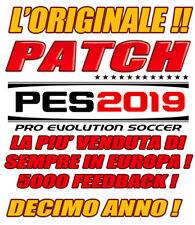 ORIGINAL PATCH PES 2019 PS4 - OPTION FILE BESTSELLER - BUNDESLIGA, SERIE B 100%