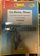 Go Down Moses / arr Dennis Armitage for Concert Band New swing style level 4