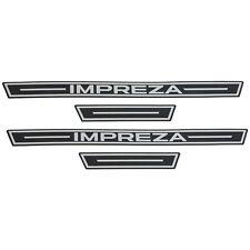 OEM 2017-2018 Subaru Impreza Side Sill Plates Metallic NEW E101SFL001