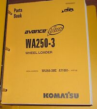 Heavy equipment manuals books for komatsu wheel loader ebay parts manual for wa250 3mc serial a71000 komatsu wheel loader fandeluxe Images