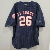 Rare VTG Mirage New York Yankees Orlando EL DUQUE Hernández 26 Jersey Mens XL
