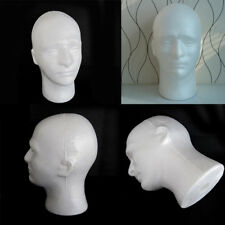 Male Mannequin Salon Hairdressing Foam Manikin Head Model Display Stand