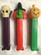 Pez Lot pumpkin, , skull, witch. all 3.9 Patent