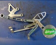 1998 ZX6R VORTEX shifter brake pedal peg bracket rear sets ninja zx 6r 98 99