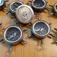 Brass Pocket Compass 35 mm Lot Of 25 Antique Marine Decorative handmade style