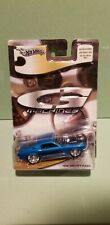 Hot Wheels 1/50 Scale G Machines 1968 Ford Mustang  blue black hood