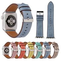 Genuine Leather Watch Strap for Apple Watch Band iWatch Series 4 3 2 1 Bracelet