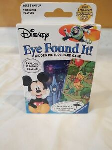Disney Eye Found It Hidden Picture Card Game Mickey Mouse Winnie Buzz New
