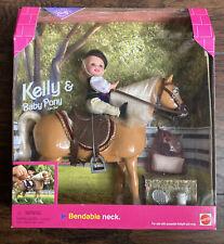 Mattel #20346 KELLY & BABY PONY 1998 Gift Set NIB
