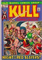 KULL THE CONQUEROR#4  FN 1972 MARVEL BRONZE AGE COMICS