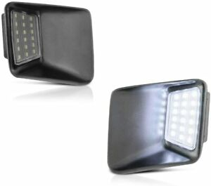 LED License Plate Light Assembly Replacement For 04-12 Chevy Colorado GMC Canyon