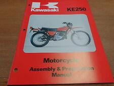 OEM Kawasaki 1976-1978 KE250-B3 Assembly And Preparation Manual 99931-1028-01