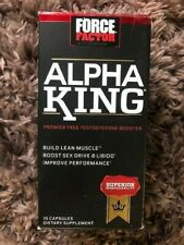 Force Factor Alpha King 15 Capsule Improve Sex Life Boost Testosterone MAR 2021