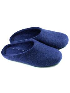 Russian Slippers Felt 100% One Color Handmade Valenki Woole Brand