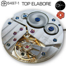 MOVEMENT ETA UNITAS 6497-1, TOP-ELABORE, COTE DE GENEVE, PEARL DECORATED PF+ MP