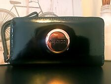 MIMCO iconic rosegold plating zip WALLET mobile slot for 99% mobile phones