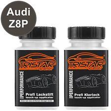Autolack Lackstift Set Audi Z8P / LZ8P Sambabraun Perl Basis- Klarlack je 50ml