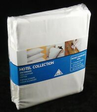 King Size Egyptian Cotton Percale Duvet Quilt Cover Set 200 TC Off White