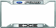 New Ford Edge logo License Plate Frame