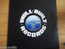 """THE CROYDON DUB HEADS - YOUR LYING 12"""" RECORD - WELL BUILT RECORDS - NEV 011Y"""