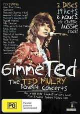Gimme Ted - The Ted Mulry Benefit Concerts (DVD, 2010, 2-Disc Set)NEW/SEALED