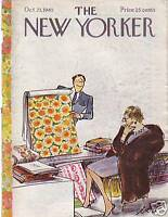 1965 New Yorker October 23 - Rich go Wallpaper shopping