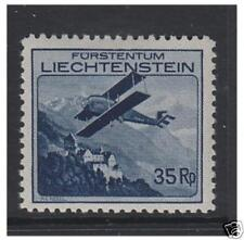 Liechtenstein - 1930, 35r Air stamp - M/M - SG 113