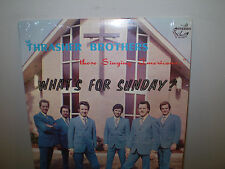 "THE THRASHER BROTHERS...""WHAT'S FOR SUNDAY?""...""JOHN GRESHAM""...OOP GOSPEL ALBUM"