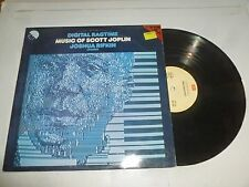 Scott Joplin Numérique-Ragtime-Rare 1980 UK 9-track vinyl LP