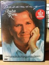 ANDRE RIEU DREAMING RARE US IMPORT DENON 2002 With EXTRAS  DVD 🎻