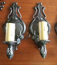 Pair of Restored Vintage 1-Light Sconces - Ready to Use!