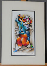 """David Schluss """"Radiant Love"""" Limited Edition Serigraph Signed Listed Artist"""
