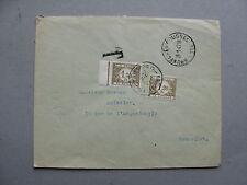 BELGIUM, cover 1947, postage due, 1,50 + 1,20 FR