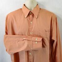Peter Millar Men's Shirt, Large, Pre-owned, Long Sleeve, 100% Cotton