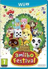 Animal Crossing Amiibo Festival Nintendo WII U IT IMPORT NINTENDO