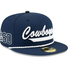Official NFL 2019 Dallas Cowboys Home On Field 1960 New Era 59FIFTY Fitted Hat