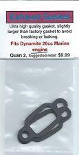 Dynamite 26cc Marine Exhaust/Muffler Gasket 2 Pack NIP