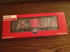 Lionel 83775 Coca-Cola Heritage Military Boxcar #1 New in Box!