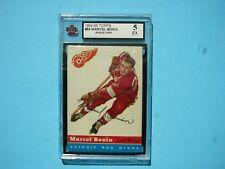 1954/55 TOPPS NHL HOCKEY CARD #59 MARCEL BONIN KSA 5 EX NICE!! 54/55 TOPPS