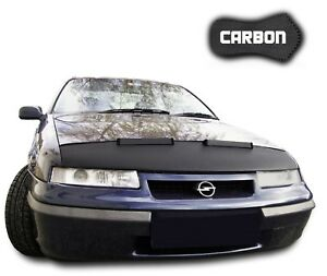 Hood Bra Opel Calibra CARBON Front End Car Bra Mask Hood Cover Nose Bonnet NEW