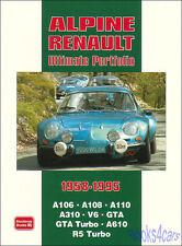 ALPINE RENAULT BOOK PORTFOLIO ULTIMATE A310 A610 GTA V6
