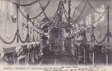 ST. HYACINTHE , Quebec , Canada , PU-1907 ; Interieur Cathedrale , Sacre Mt. Ber