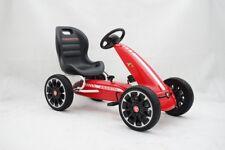 Go Kart A Pedali Per Bambini Modello Abarth Con Freno E Frizione Rosso