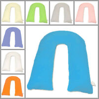 12ft Comfort U Pillow Case Back Body Support Nursing Maternity Pregnancy U NEW