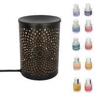 Shop LC Abstract Pattern Table Decorative Diffuser Lamp With Set of 10 Aroma Oil