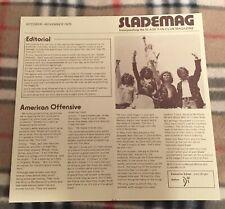 SLADEMAG Official Slade Fan Club Magazine. October - November 1975
