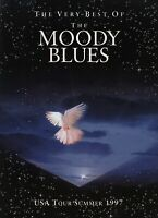 MOODY BLUES 1997 USA SUMMER TOUR CONCERT PROGRAM BOOK BOOKLET / NEAR MINT 2 MINT